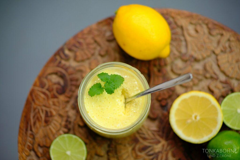 Creme aus Zitronen und Limetten