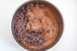 Bananenbrot mit Schokolade_Schokolade