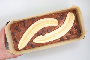 Bananenbrot mit Schokolade_Teig